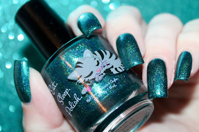 "Swatch of the nail polish ""Ariel's Gizmo Aplenty"" from Eat Sleep Polish"