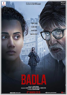 Badla 2019 Review Poster