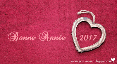 bonne annee 2016 love