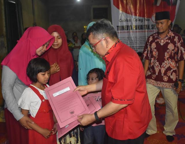 Trimedya Panjaitan Ceritakan Besarnya Perhatian Presiden Jokowi Kepada Masyarakat Pedesaan