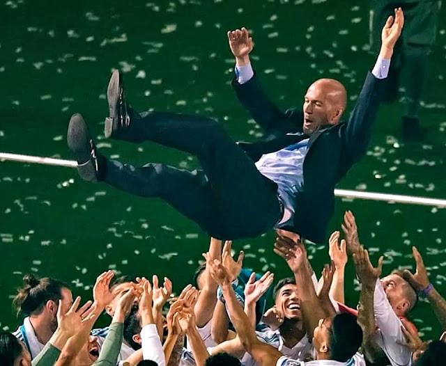 Mengapa Zidane Tega Meninggalkan Real Madrid?