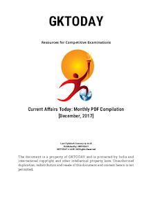 GKToday December 2017 Full Month PDF