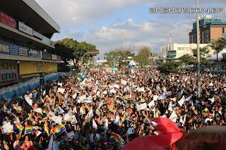 IMG 9927 - 13ª Parada do Orgulho LGBT Contagem reuniu milhares de pessoas