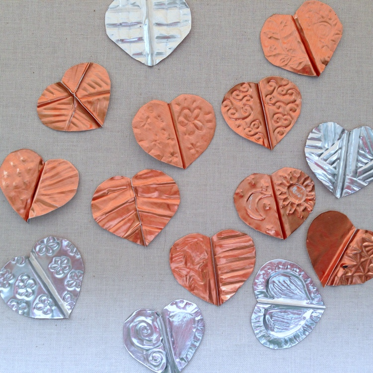 Lisa Yang S Jewelry Blog Using Copper Embossing Foil And
