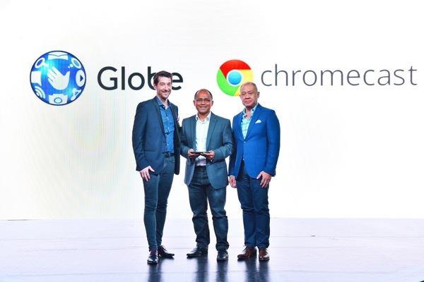 Globe Telecom brings Chromecast to Philippines