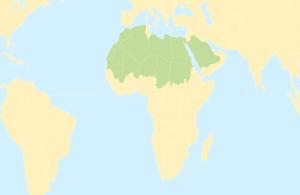 khu vực sinh sống của cáo fennec