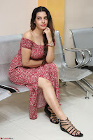 Diksha Panth in a Deep neck Short dress at Maya Mall pre release function ~ Celebrities Exclusive Galleries 019.JPG