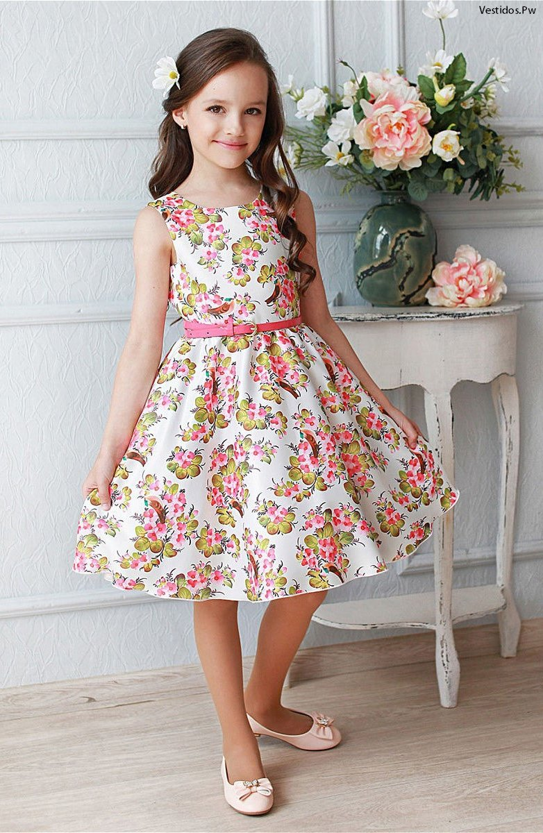af2ac5266 Más de 55 Vestidos de Niña ¡Lindos Modelos Exclusivos! | Vestidos ...