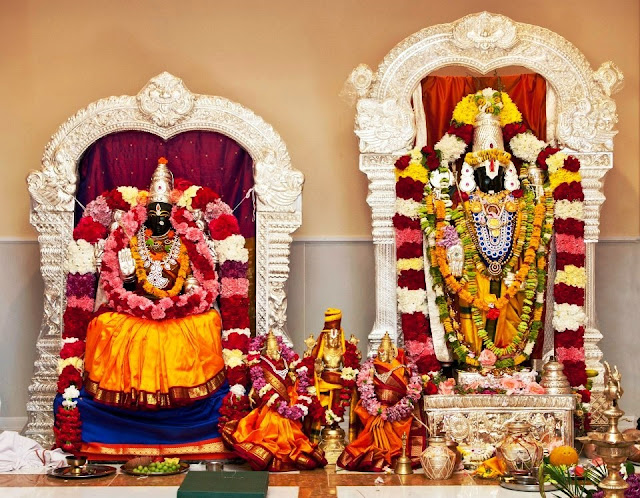 Lord Venkateswara and Goddess Padmavathi