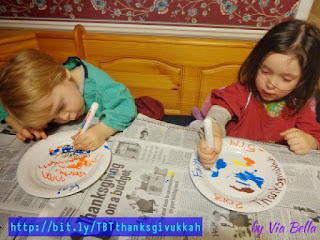 A Holiday TBT: An Awesome & Easy Kid's Craft (for Thanksgivukkah), Throwback Thursday, Holidays, Crafts, Holiday Crafts, Easy Crafts, Thanksgiving, Thankgivukkah, Hanukkah, Chanukkah, Celebrate, Cross Cultural celebrations, Cross Cultural crafts, Bi-Cultural, Jewish holidays, Jewish and American Holidays,