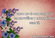 Frases de Feliz Cumpleaños en Español
