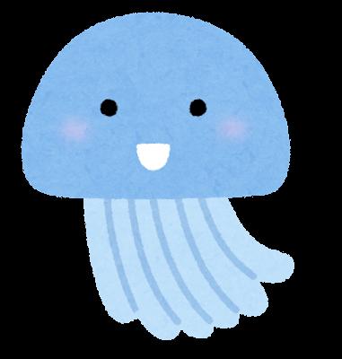 クラゲのキャラクター