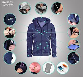 Baubax - Jaket Multifungsi