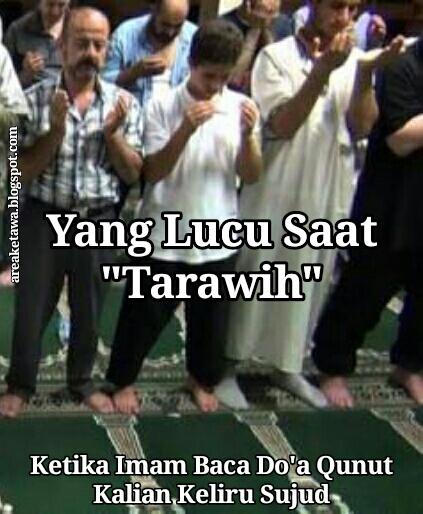 8 Gambar Meme Sholat Tarawih Terbaru Area Ketawa