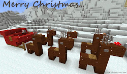 minecraft christmas things cool build xbox xmas 360 santa easy fun houses buildings builds stuff project reindeer edition tree themed