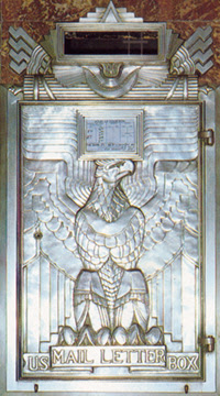 Chrysler Building Mail Box
