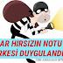 KİBAR HIRSIZIN NOTU HERKESİ DUYGULANDIRDI