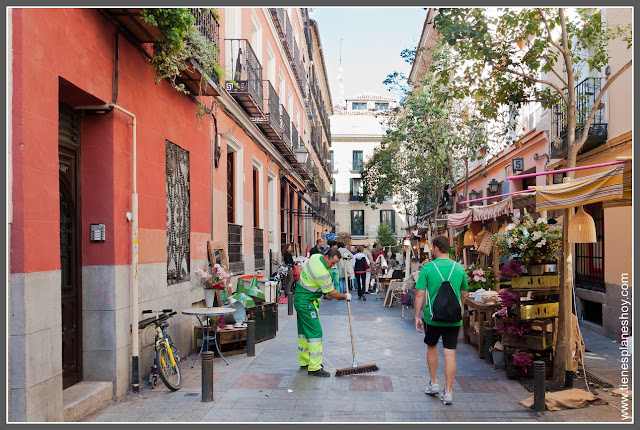 Barrio de las Letras Madrid