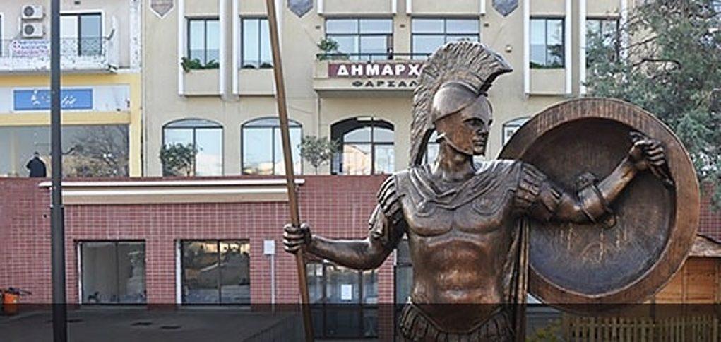 Αναπλάσεις πεζοδρομίων και νέα πλατεία στη πόλη των Φαρσάλων χρηματοδοτεί η Περιφέρεια Θεσσαλίας