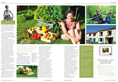 French Village Diaries lifestyle and book review blog Living France feature