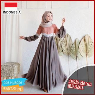 HJB026 Clarisa Dress 6 Varian Warna BMGShop