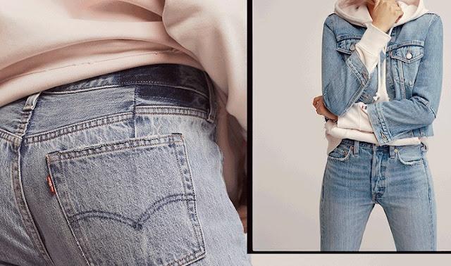 501 Vintage Altered Jeans