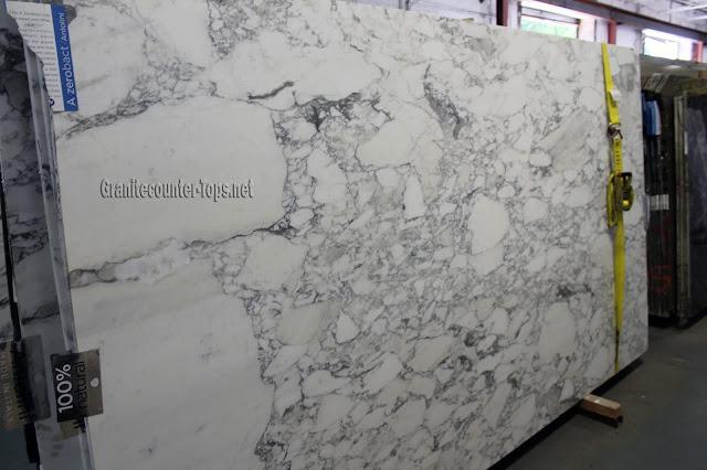 Arabescato Vagli White Marble Slab
