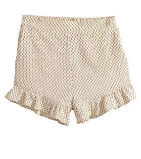 short à volant beige H&M