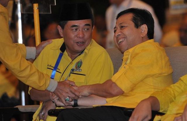 Ade Komarudin Mundur Dari Pencalonan, Setya Novanto Melenggang Jadi Ketua Umum Golkar Periode 2014-2019