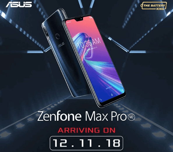 ASUS ZenFone Max Pro M2 will launch in Philippines on December 11