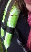 porte-bébé Easy Feel Preschool bretelles épaisses  portage confort poids enfant