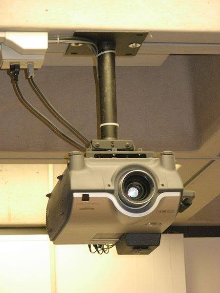 How to Install Drop Ceiling Projector Mount.