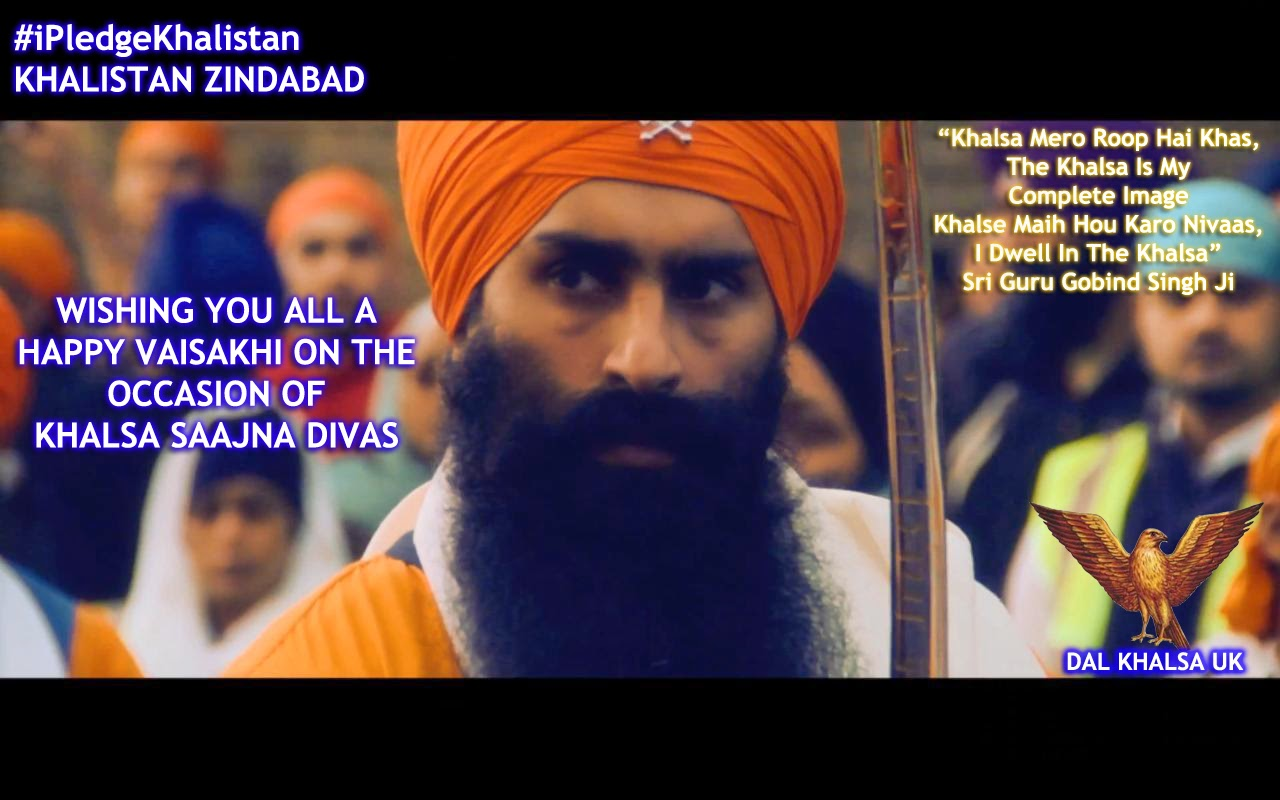 DAL KHALSA UK WISHES YOU ALL A VERY HAPPY VAISAKHI ON ...