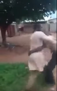 Hilarious! Mad man nearly beats up pastor during deliverance