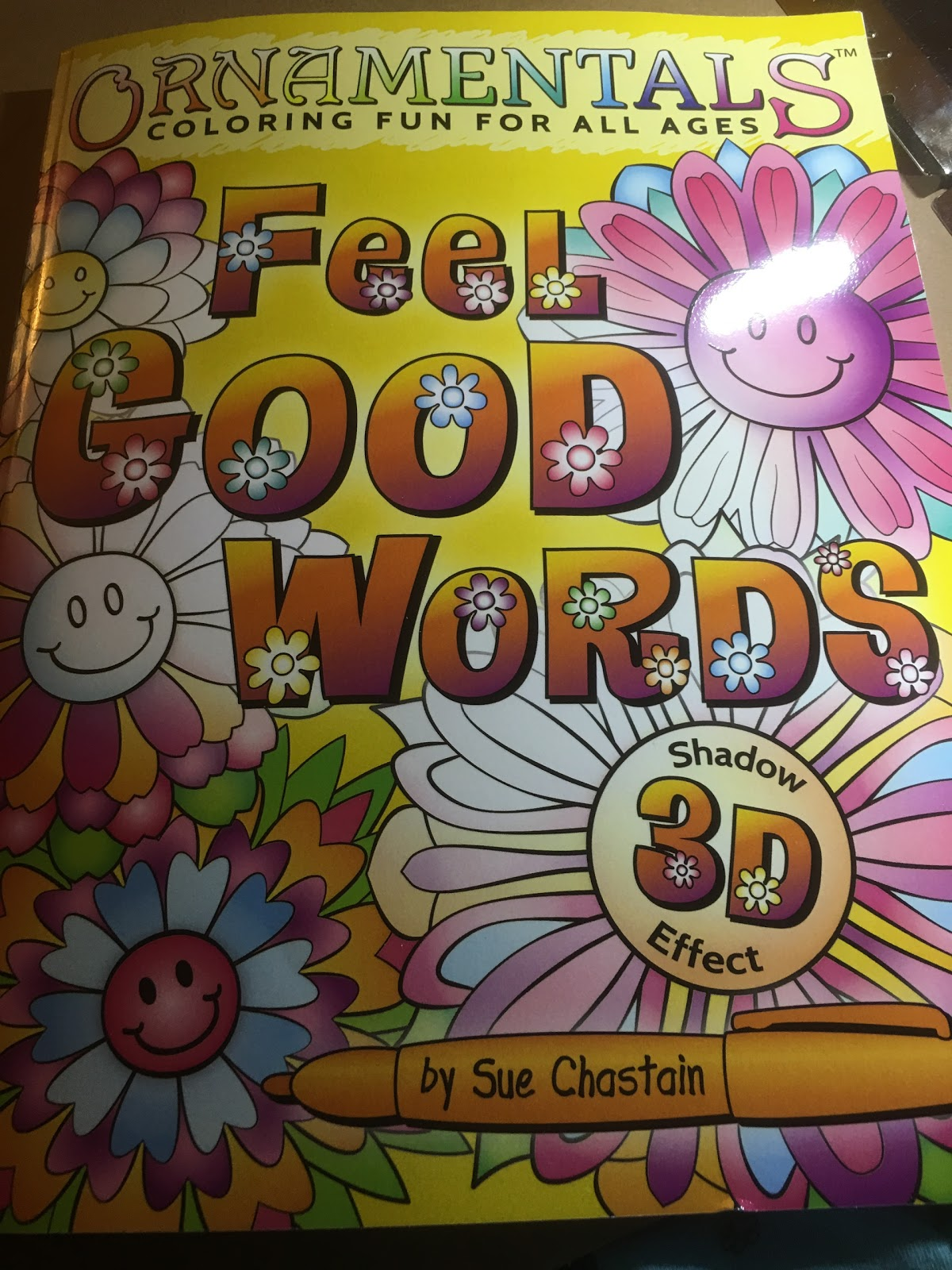 The coloring book of positivity - Amazon Review Ornamentals Feel Good Words Coloring Book 30 Positive And Uplifting Feel Good Words To Color And Bring Cheer