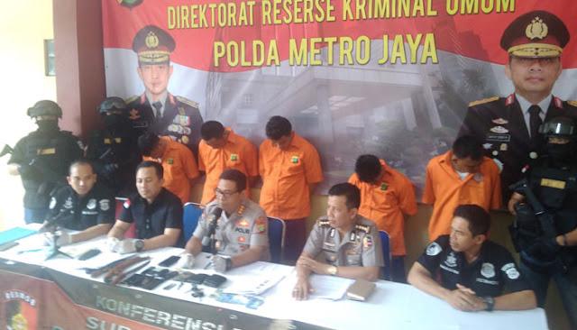'Kapten' Perampok Nasabah Bank Mati Ditembak