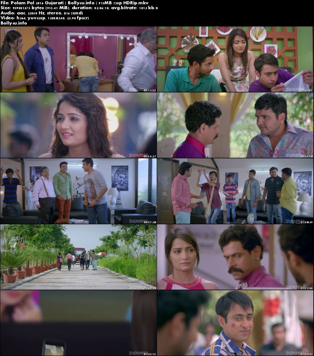 Screen Shoots of Watch Online Polam Pol 2016►Two Thousand Sixteen►Two Thousand Sixteen HDRip 900MB Gujarati Movie (720p►1280 x 720 pixels) Free Download Bolly4u.info