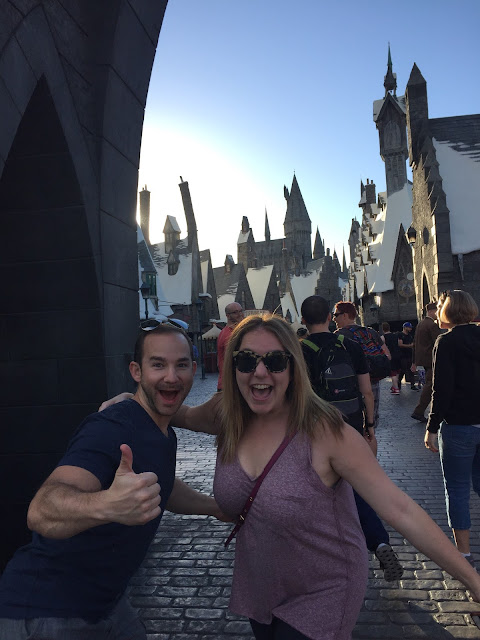 Harry Potter World, Universal Studios Hollywood, Los Angeles, Hogwarts, Jamie Allison Sanders, Evan Sanders