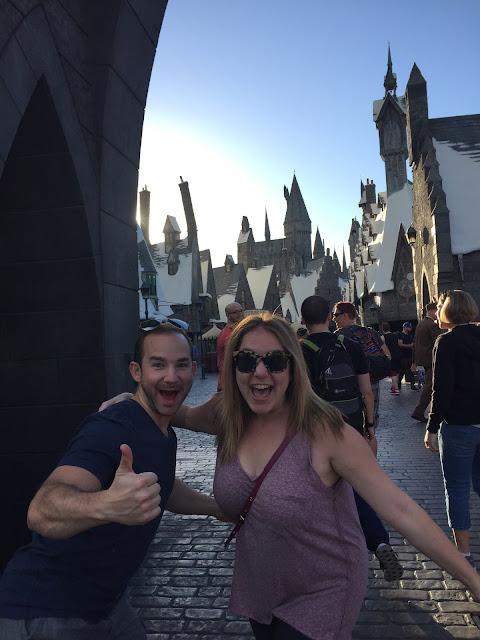 Harry Potter World, Universal Studios Hollywood, Los Angeles, Hogwarts, Jamie Allison Sanders, Evan Sanders