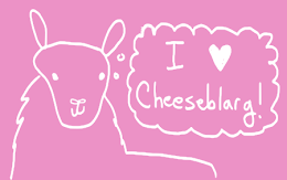 Love Cheeseblarg? Let people know!
