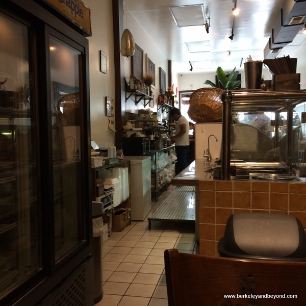 interior of el Rico Tinto Bakery in Jackson Heights, Queens, NYC