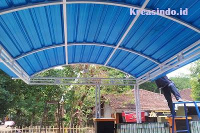 Jasa Canopy Besi Minimalis di Cirebon dan sekitarnya