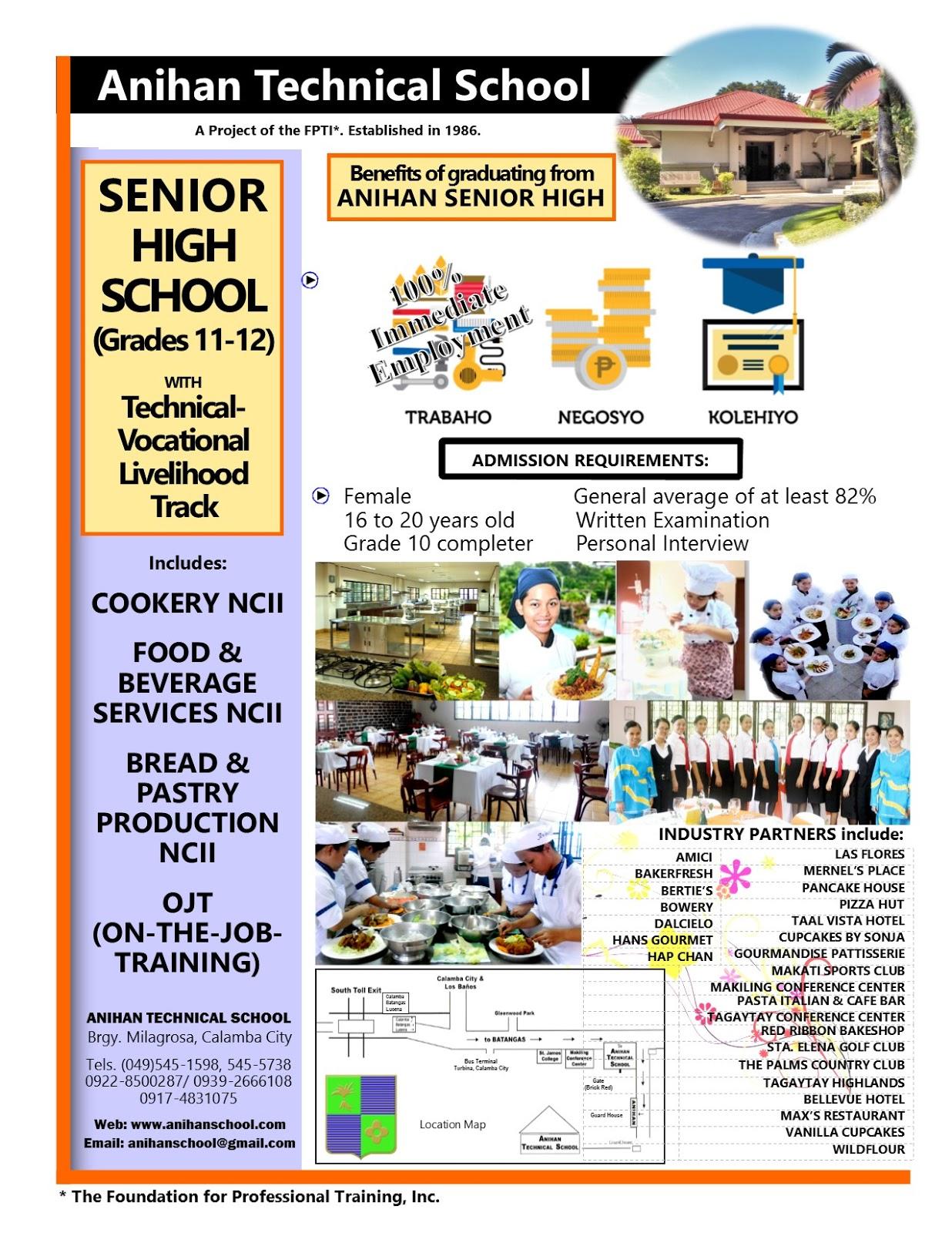 Senior High School Curriculum In The Philippines