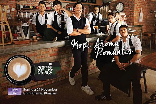 DRAMA MY COFFEE PRINCE LAKONAN FATTAH AMIN DAN JANNA NICK