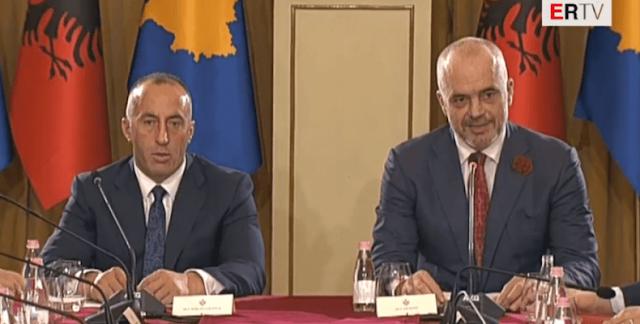 """Ο Ράμα προχωράει το σχέδιο της """"Μεγάλης Αλβανίας"""""""