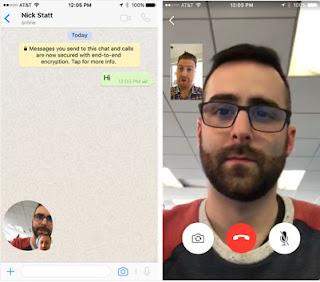 واتس آب يدعم المكالمات المرئية بالفيديو Video Call رسمياً