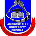 AAU, Ekpoma [IoE] 2017/18 Regular Diploma Programmes Admission Form Out