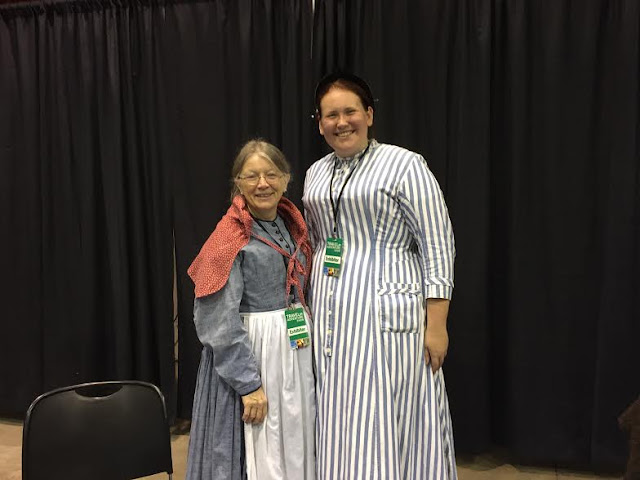 Historical interpreters from Old World Wisconsin at The Travel and Adventure Show