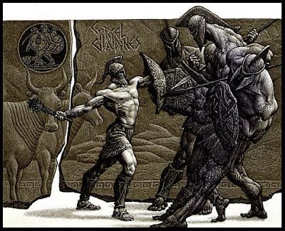 Combate de Hércules y Gerión