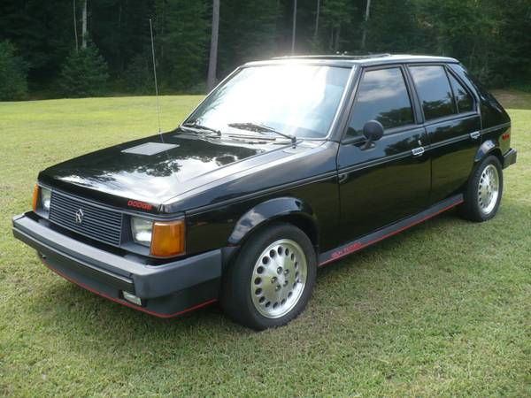 daily turismo still for sale 1985 dodge omni glh turbo. Black Bedroom Furniture Sets. Home Design Ideas